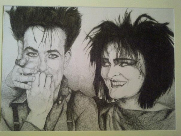 Siouxsie Sioux And Robert Smith Siouxsie Sioux Robert Smith